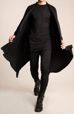 All in black color. #fashion #style #MenFashion