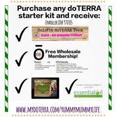 Join the Hol:Fit doTERRA team -Massive perks!!