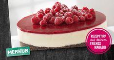 friends Magazin :: MERKUR Immer gut Backschule Nirvana, Raspberry, Cheesecake, Foods, Fruit, Drinks, Desserts, Yogurt, Pies