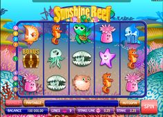 Was kann jetzt besser als im Wasser lieegen sein?! Sunshine Reef Spielautomat von #Microgaming gint und diese Möglichkeit kostenlos das Spiel geniessen und sich, wie im Urlaub fühlen! Spielt Sunschine Reef Microgaming #Spielautomat gratis!