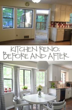 Kitchen Reno: Before and After | Hearts & Sharts | www.heartsandsharts.com