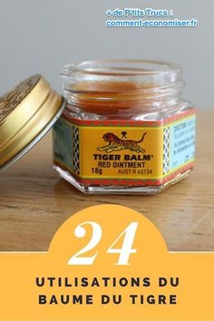 24 New Uses of Tiger Balm Tiger Balm, Natural Medicine, Natural Healing, How To Lose Weight Fast, Aromatherapy, Just In Case, Natural Remedies, Health Tips, Detox