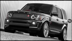 Land Rover Discovery twin turbo Kahn edition