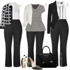 Plus Size Work Outfits - Plus Size Fashion for Women - Plus Size Work Outfit #alexawebb #plus #size