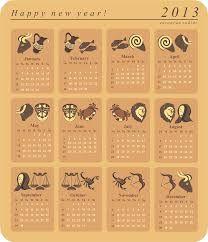 Zodiac Signs Calendar Templates  Calendar Templates