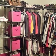 Closet Organizer Storage Rack Portable Clothes Hanger Home Garment Shelf Rod  | Organization... | Pinterest | Clothes Hanger, Storage Rack And Hanger