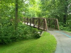 Things I like about Stowe: Stowe Recreation Path. mostly flat, cool bridges, hop on/off restaurants, shade, swimming | 8.16.12