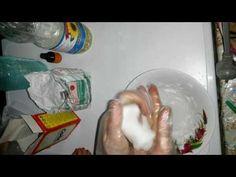 Как сделать холодный фарфор своими руками - YouTube