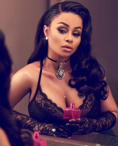 Welcome to Oghenemaga Otewu's Blog: Blac Chyna classy and elegant as MAC fragrance Amb...