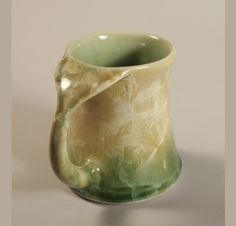 Edgecomb Pottery Whale Tail Mug. Beautiful!