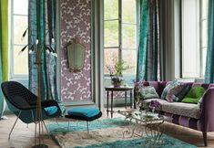 Baroque Sofa Napolon III Style Black Velvet And