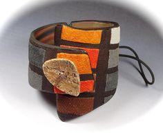 Bracelet Manchette #1   by Fimo Maniguette