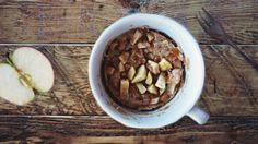 Pure Power Panda: Vegan Apple & Cinnamon Mug Cake Recipe