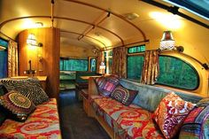 The Flying Tortoise: A Tiny Bus Converted Into A Beautiful Motorhome. The Flying Tortoise: A Tiny Bus Converted Into A Beautiful Motorhome. Rv Interior Remodel, Airstream Interior, Bus Interior, Interior Design, Camper Renovation, Camper Remodeling, Interior Photo, Interior Lighting, Interior Ideas