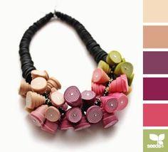 Цветотерапия - Бусы и кольцо