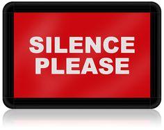 Silence Please Light