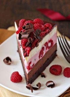 Gâteau mousse Chocolats & framboises (4)