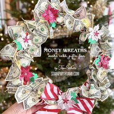 Diy Christmas Cards, Christmas Wreaths, Christmas Ornaments, Paper Pumpkin, How To Make Wreaths, Poinsettia, Diy Kits, Craft Stores, Stampin Up