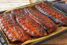 Potluck Spareribs Rib Recipes, Crockpot Recipes, Cooking Recipes, Yummy Recipes, Chicken Recipes, Dinner Recipes, Pork Ham, Spare Ribs, Chops Recipe