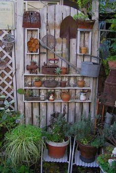 1000 Images About Garden Shelf On Pinterest Outdoor