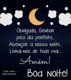 Mensagens De Boa Noite De Agradecimento Noite Good Night Frases