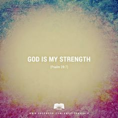 REDE MISSIONÁRIA: GOD IS MY STRENGTH