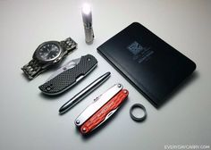 Everyday Carry - M/Canada/Engineer - Covering the Basics