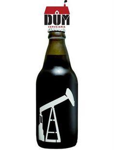 Cerveja DUM Petroleum, estilo Russian Imperial Stout, produzida por DUM Cervejaria, Brasil. 12% ABV de álcool.