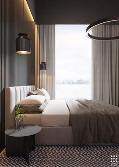 Trendy Home Color Palette Gray Beds 67 Ideas Master Bedroom Interior, Modern Master Bedroom, Modern Bedroom Design, Home Room Design, Master Bedroom Design, Minimalist Bedroom, Home Interior, Home Bedroom, Bedroom Decor