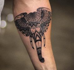 Mandala elephant by Kristi Walls