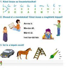 FELADATLAPOK A BETŰTANULÁSHOZ, ÖSSZEOLVASÁSHOZ - webtanitoneni.lapunk.hu Reading Activities, Map, Album, School, Maps, Peta, Card Book