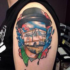 ATUALIZADO: 30 Tatuagens de Breaking Bad