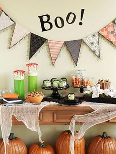 Cute for kids Halloween party