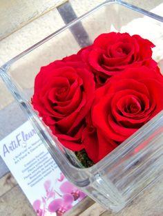 Artifleurs art floral & décoration http://www.artifleurs-fleurs-artificielles.com  #décoration #fleur #mariage #diamant #fête #noel #ROSE