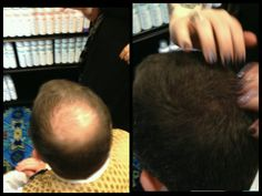 Bosley pro fibers.  www.Bosley pro.com For fine thinning hair