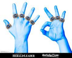 University of Kentucky 2012 NCAA Champs! GO BIG BLUE!