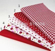 Cortina De Tela Ladybirds Rojo Tapicería Cojín Patchwork manualidades quilting