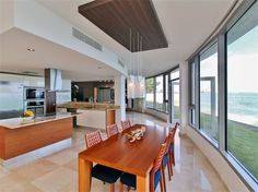 Interiors - Kitchen › Beach Front at Azure 1 Almendro Street Apt 101 Puntas Las Marias San Juan, Puerto Rico