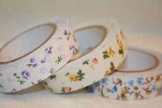 $20 Starting Bid: Pretty, Please - Floral Washi Tape