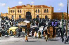Plaza de Toros de Tetuán de las Victorias, 1930 - Portal Fuenterrebollo