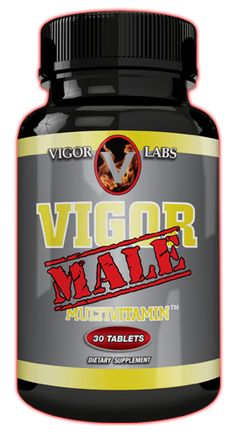 Vigor Male Multivitamin™ Hormone Supplements, Bone Strength, Body Anatomy, Cardiovascular Health, Folic Acid, Vitamins And Minerals, Going To Work, Improve Yourself, The Cure