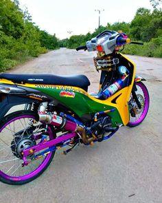 Modifikasi Supra 125 Airbrush : modifikasi, supra, airbrush, Honda, Ideas, Honda,, Motorcycles,, Motorcycle