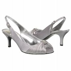 "'Touch of Nina Women's Cremia 2 Shoe"" from Famous Footwear.  On sale now for $49.99.  Elegant with a touch of bling!"