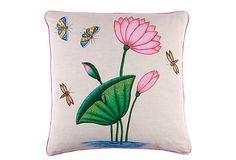 Lotus Pillow on OneKingsLane.com