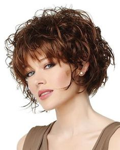 gabor synthetic wig Flutter side view