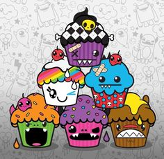 So Happy Crew In Cupcake Form