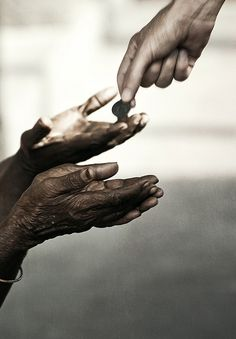 """""""whoever is kind to the needy honors God."""" -Proverbs 14:31b"""
