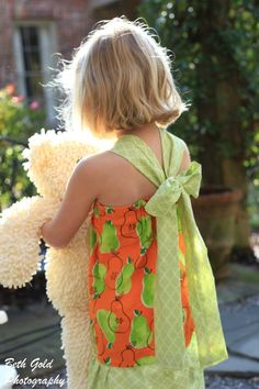 Double Ruffle Halter Dress for Girls (sizes 6months - 8 years)