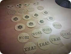 Etiquetas navideñas diy / DIY Christmas labels