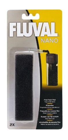 Fluval Fine Foam Pads for Nano Aquarium Filter - 2 pk - ON SALE! http://www.saltwaterfish.com/product-fluval-fine-foam-pads-for-nano-aquarium-filter-2-pk